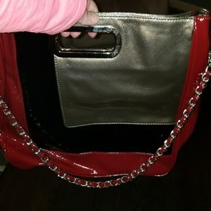New Huge Patent Leather Tote